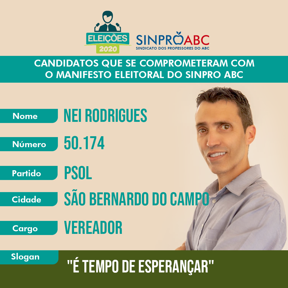 candidatos ney rodrigues