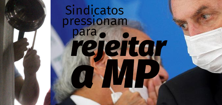 rejeitar a mp